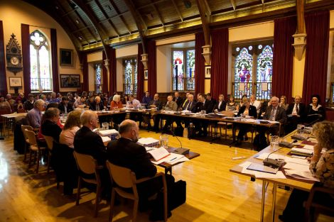 Councillors deciding to close two primaries and keep two open - Photo: Garry Sandison