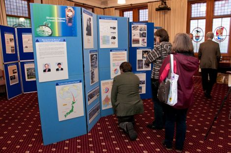 The exhibition in the council chamber is only on until Friday afternoon - Photo: Austiin Taylor