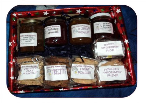 Sheila has a range of gift boxes available