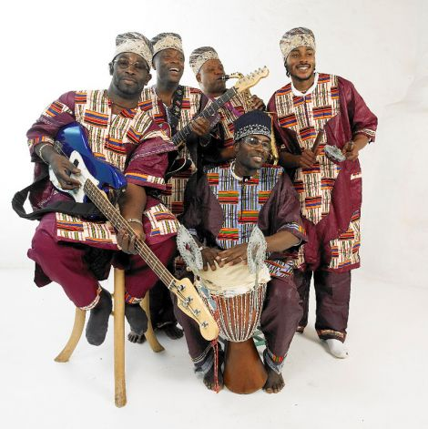 London based Kasai Masai will bring the sound of the most remote equatorial African villages to Shetland.