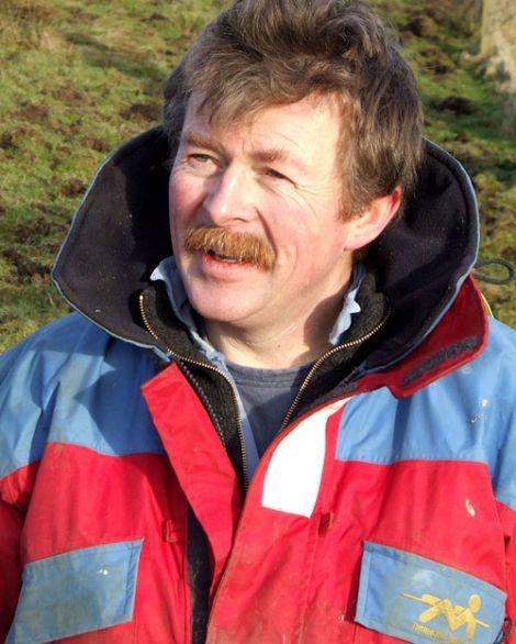 Shetland Livestock Marketing Group chairman Ronnie Eunson
