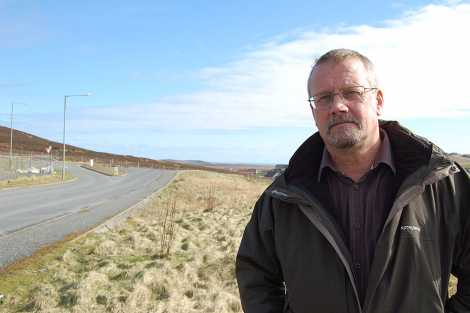 Sustainable Shetland chairman Billy Fox: 'shell-shocked and ashamed' - Photo: Shetland News