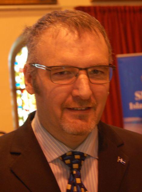 Councillor Gary Robinson - reelected.