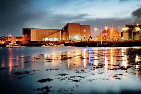 Shetland's new music venue and cinema Mareel