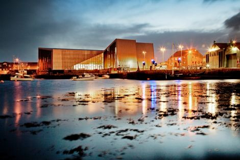 Mareel: the controversy continues as builders DITT take Shetland Arts to court. Pic. Shetland Arts/Phatsheep Photography