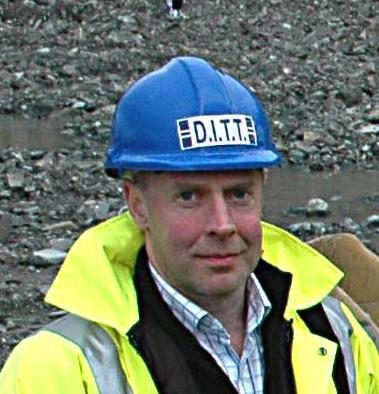 DITT finance director Peter Tait
