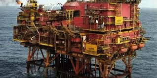 North Cormorant oil platform