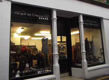 You can find Sophie Dawn's on Lerwick's high street