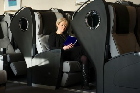 Sleeping pods are available for £18 a night. Photo NorthLink Ferries
