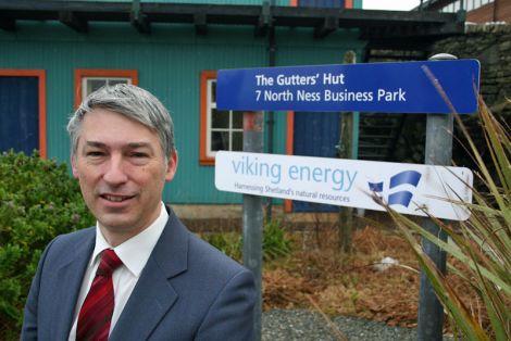 Viking Energy Shetland's new chairman Alan Bryce - Photo: Viking Energy