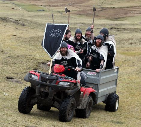 They came as raiders and are now quad-owning crofters - Photo: Kevin Osborne
