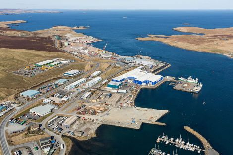 At Arlanda, initial land reclamation is providing sites for pelagic tenants to develop. Ongoing developments include deep-water quays, laydown and future development sites for multi-user tenants - Photo: LPA