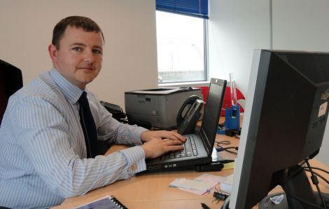 SIC finance director James Gray has laid out an eight point plan to avoid future financial crises. Photo Shetland News