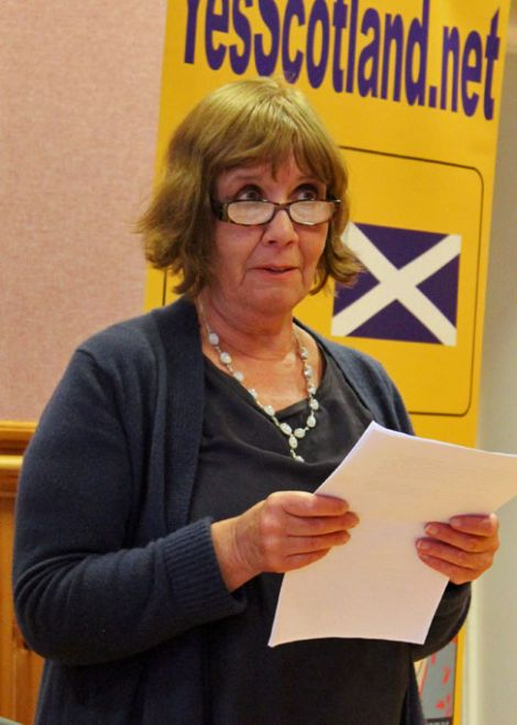 Celia Fitzgerald of Labour for Independence.