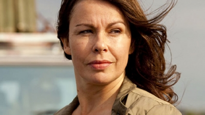 Julie Graham in her Survivors role as Abby Grant.