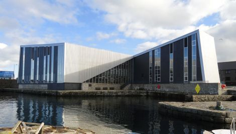 The cinema and music venue Mareel was opened at the end of August 2012 - Photo: Hans J Marter/ShetNews