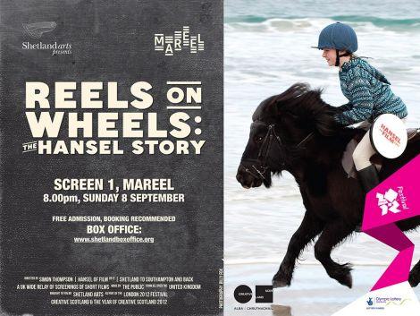 Reels on Wheels film poster.