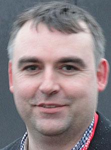 Shetland Arts director Gwilym Gibbons.