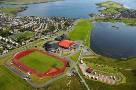 Shetland Recreational Trust is based at the Clickimin Leisure Complex. Photo John Coutts