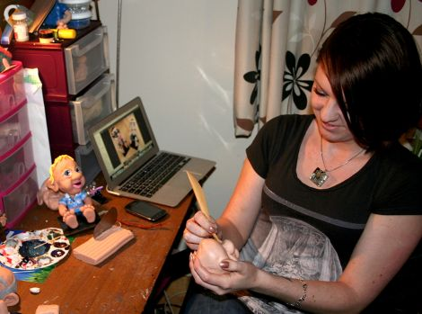 The demand for bobble heads transformed a hobby into a business - Photo: Chris Cope