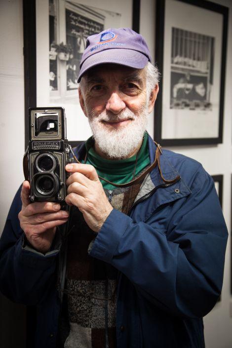 Dennis Coutts' latest exhibition runs until 2 March. Photo: Dave Hammond.