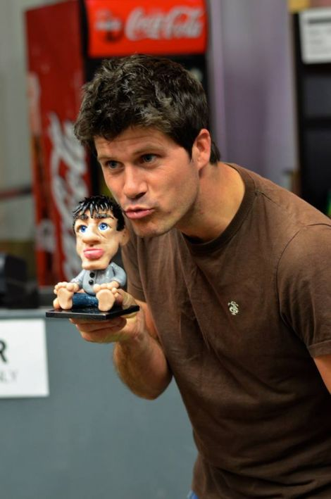 Seth Lakeman: 'flattered'.