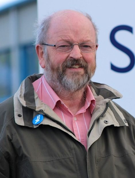 Yes Shetland chairman Brian Nugent.