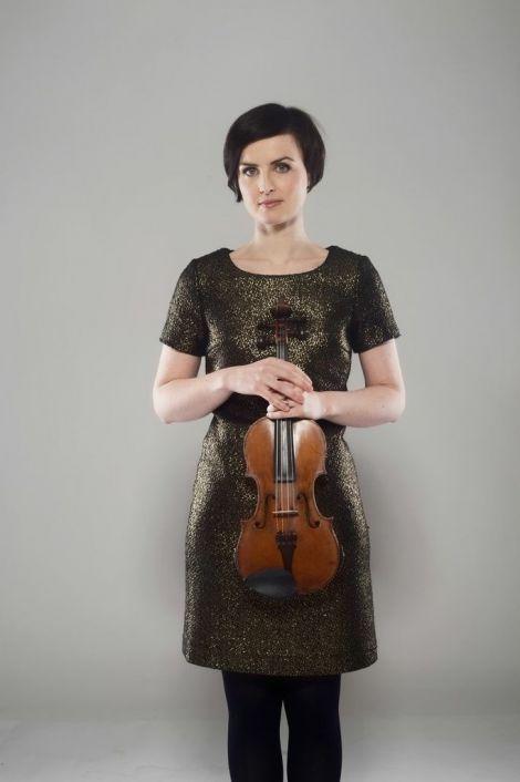 Isles fiddler Jenna Reid.