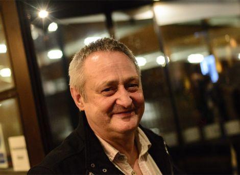 Davie Henderson at the Celtic Connections festival - Photo: Sean Purser