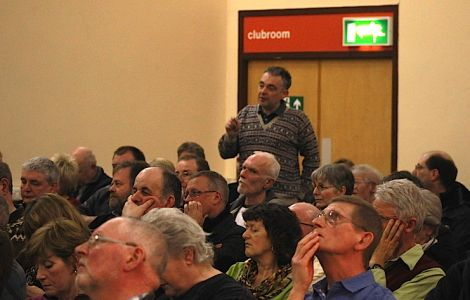 Local architect Iain Malcolmson said he was not an SNP man but would be voting yes. Photo: Hans Marter/Shetnews