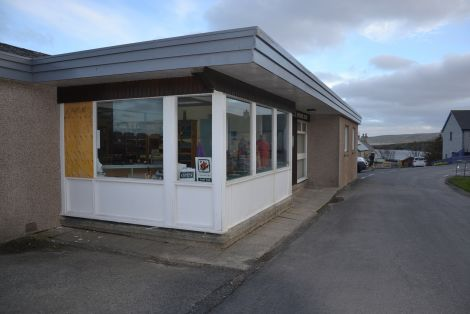 Laurence Odie Knitwear Ltd.'s premises in Hoswick were broken into and money stolen at the weekend. It is the fifth victim of a break-in in the past three months. Photo: Shetnews