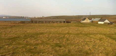 The rear of the Graven Hotel, where there are plans to open a trailer park. Photo Shetnews