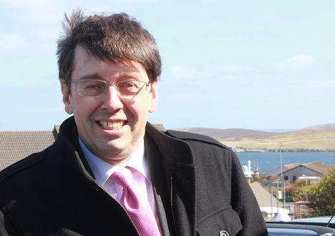 BT Scotland director Brendan Dick