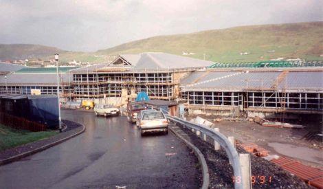 NAFC building site - Photo: NAFC