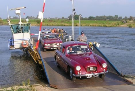 A 1955 Bristol 405. Ten cars from the Bristol Owners and Drivers Association will be on show at next weekend's Classic Motor Show.