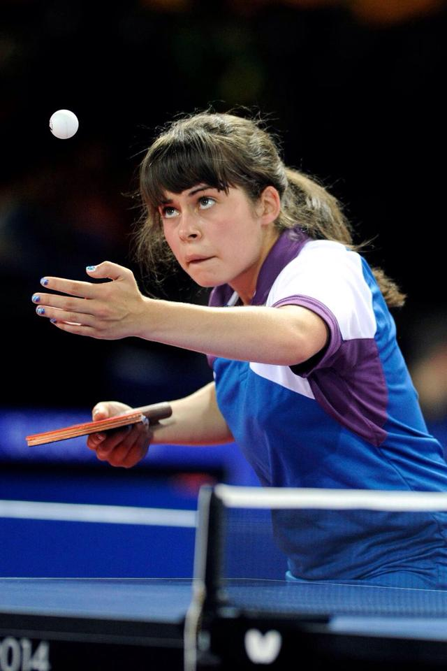 Lynda Flaws in action down in Glasgow this week. Photo: John Devlin