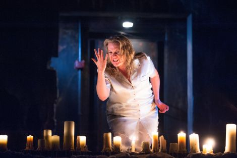 Catrin Aur excelled in her heartbreaking rendition of Lady Macbeth's descent into madness - Photo: Tommy Ga-Ken Wan
