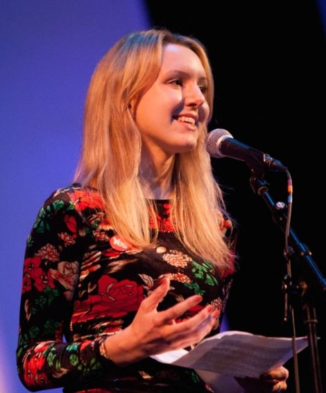 """Common Weal policy analyst Miriam Brett talks of """"heartbreaking levels of inequality, hunger and poverty"""". Photo: Simon Baker"""