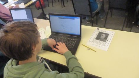 Pupils have been researching profiles of Shetland personnel involved in the First World War.