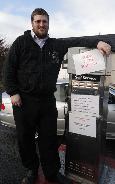 Shop owner Scott Preston: 'a really hard decision'.