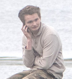 Samuel Barlow at Westerloch shortly before being arrested on 23 September - Photos: Austin Taylor