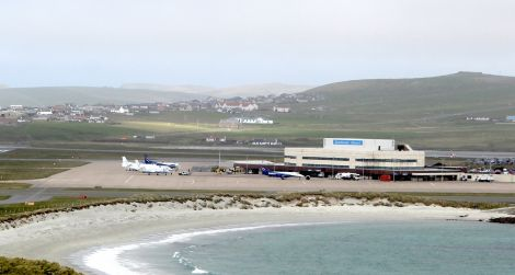 Sumburgh airport faces disruption if security staff take industrial action.