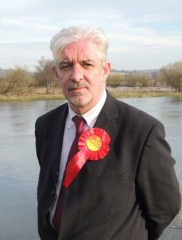 Labour PPC Gerry McGarvey.