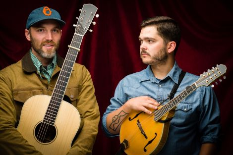 """Cahalen Morrison and Eli West: an act that """"other artists run to see at a festival""""."""