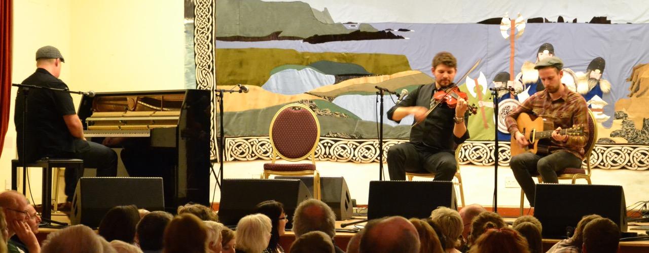 Nova Scotian piano and fiddle whizzkid Troy MacGillivray. Photo: Shetnews