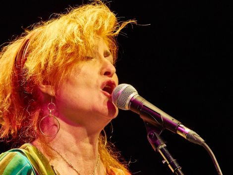 Eddi Reader showcased a host of traditional Scots songs over two nights at Mareel this weekend. Photo: Chris Brown