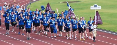 Team Shetland – Forty five competitors and officials travelled to Bermuda for the last Games in 2013. Team Shetland will be over three times larger this year, with 142 competitors and officials. Photo courtesy of SIGA