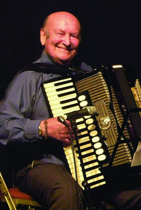 Jim Halcrow was a staple of the traditional music scene for more than 60 years. He's pictured here at Clickimin during the Fiddle and Accordion Festival.