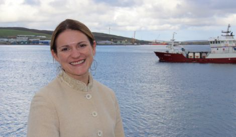 """Labour MEP Catherine Stihler in Shetland: """"There's a real energy here."""""""
