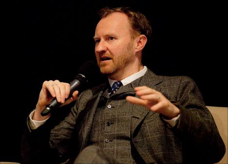 Mark Gatiss, of League of Gentlemen/Sherlock/Doctor Who fame, during Friday night's Q&A at Mareel. Photo: Dale Smith